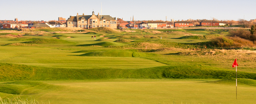 A classic links course with windswept undulating fairways